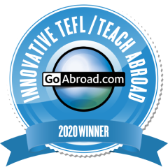 TravelBud won the GoAbroad innovation award for TEFL / Teach Abroad in 2020!